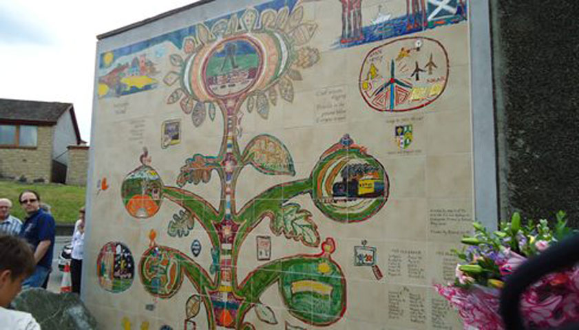 Crossgates Community Garden and Mural