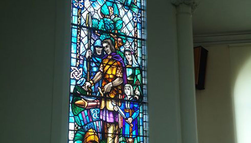 Stain Glass Window Restoration, Gillespie Church, Dunfermline