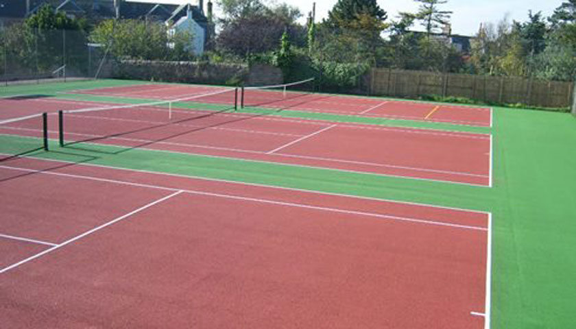 Upgrade of Three Tennis Courts, Pittenweem
